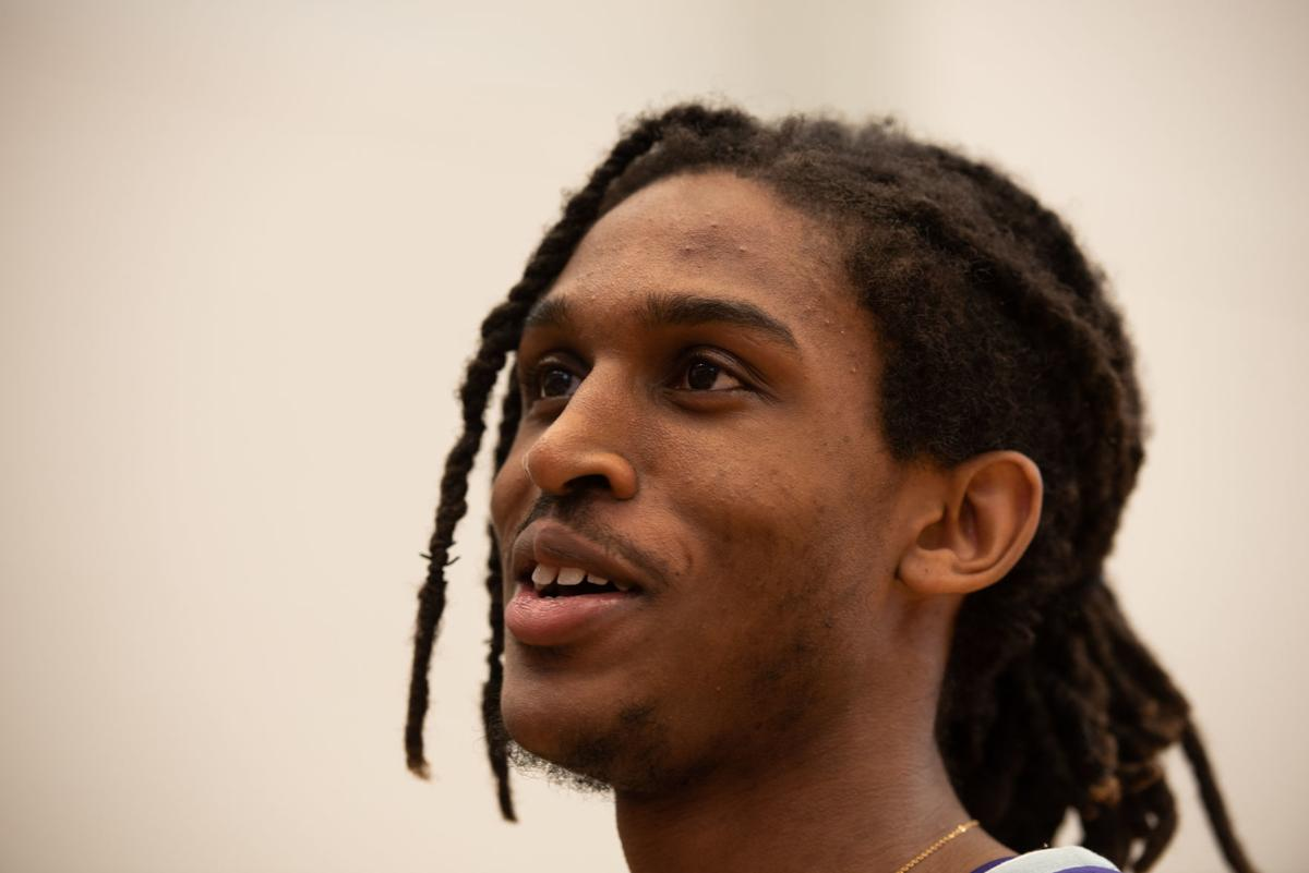 Cartier Diarra answers questions