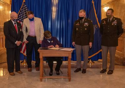 Gov. Laura Kelly signs 'Year of Honor' proclamation
