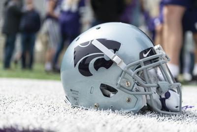 Helmet at K-State Spring Game