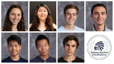 MHS National Merit Scholarship finalists