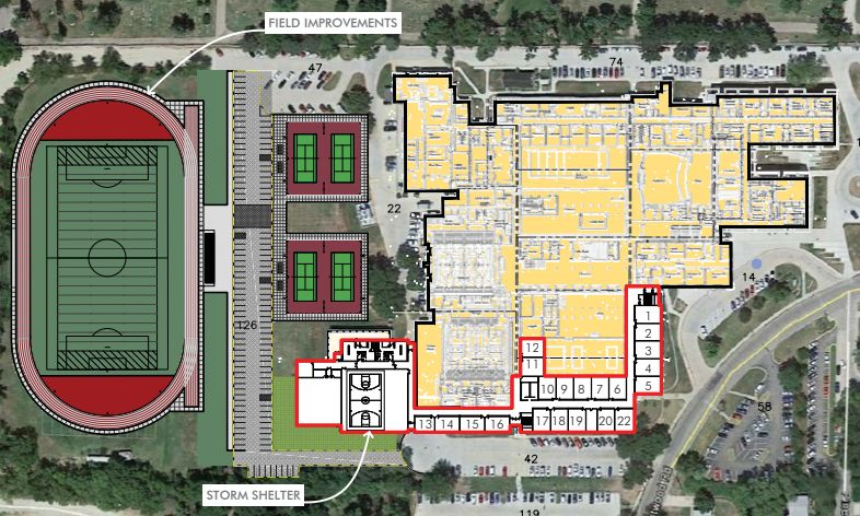 West Campus Plan Includes Tearing Down A Hall, Adding
