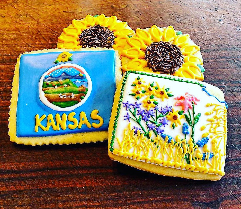 Little Batch Co. Kansas cookies