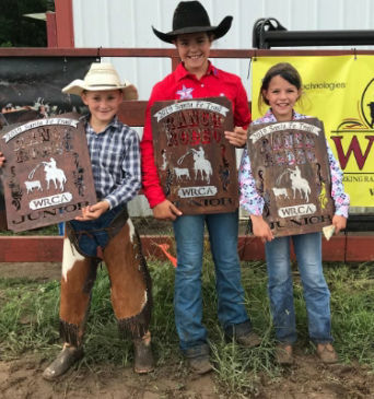 Junior Ranch Rodeo winners
