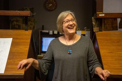 After a 40-year career Kris Collier will be going into retirement. Kris Collier worked doing digital ads for the internet for the Manhattan Mercury.