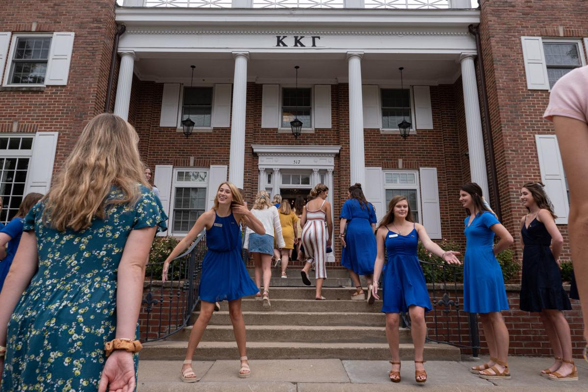 Women take on K-State's sorority recruitment week | News