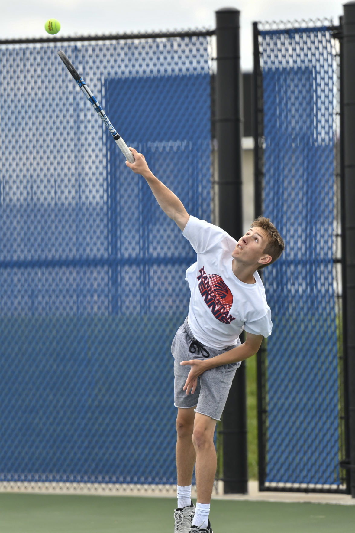 6A State Tennis Championship in Olathe: Manhattan High Boys Tennis