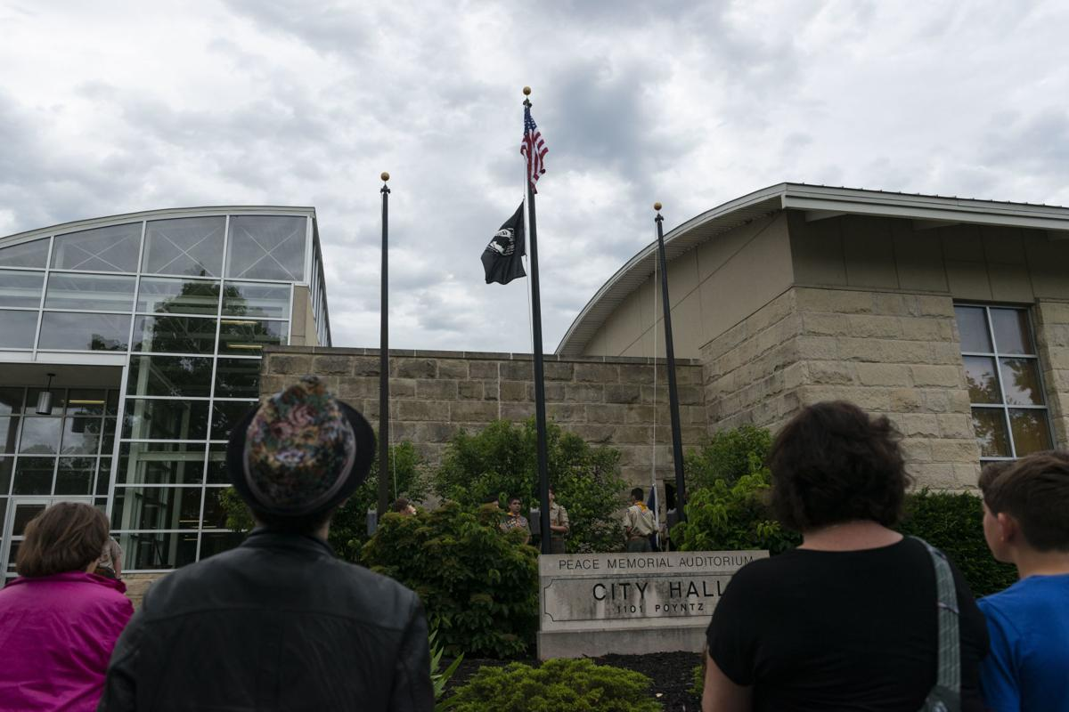 Flag Day Ceremony at City Hall