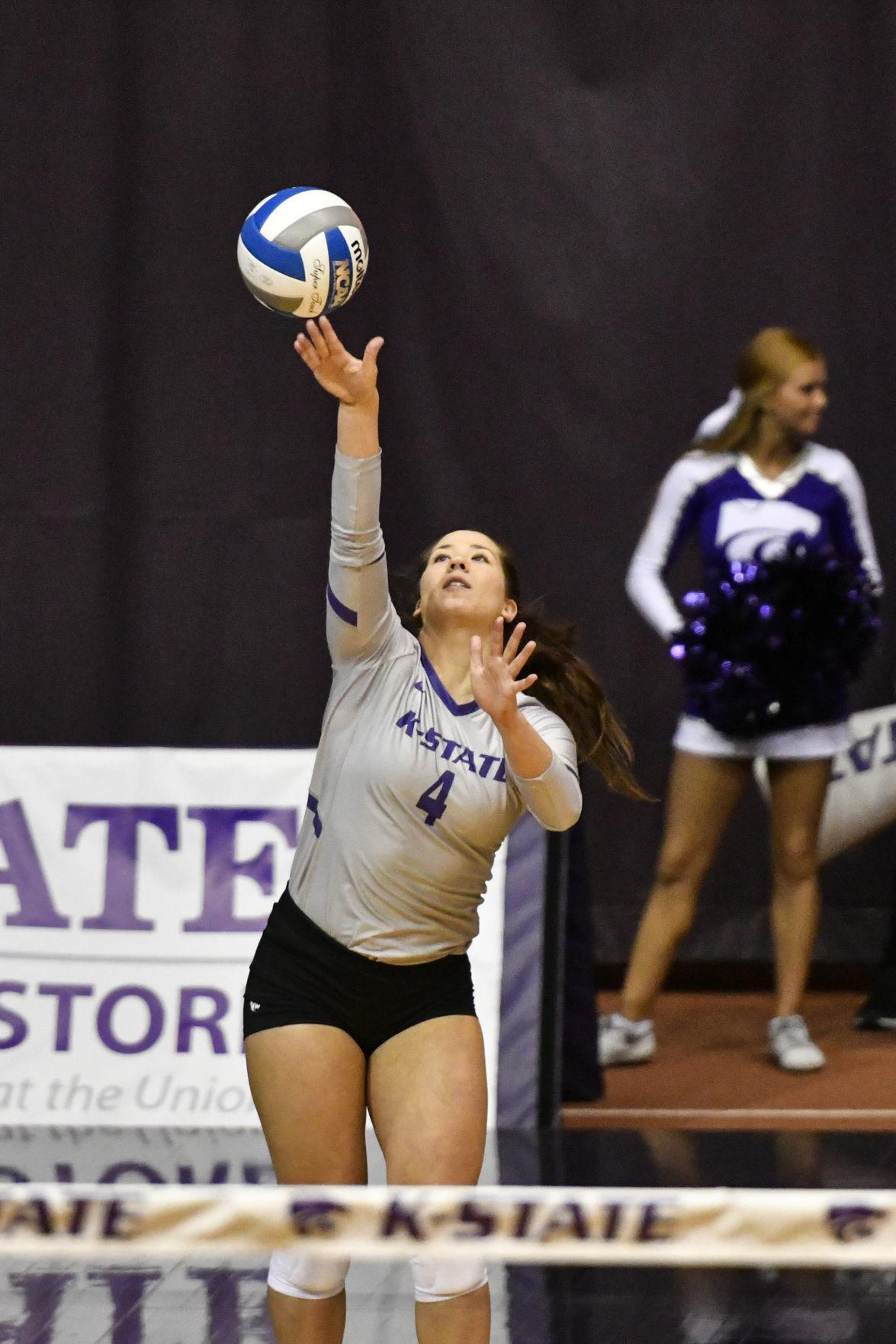 NCAA Volleyball: Kansas State vs Texas Tech