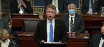 Roger Marshall speaks in Senate