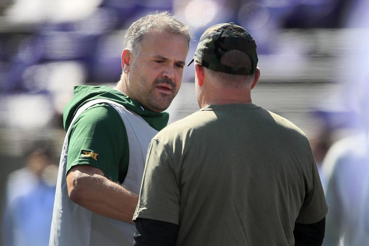 What They Said Baylor Coach Matt Rhule Knew It Was Going