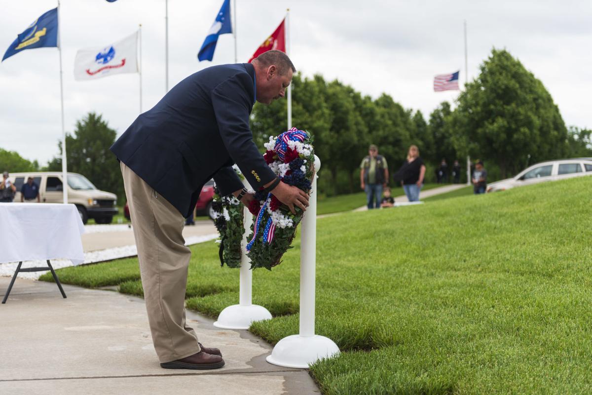 Memorial Day service at Kansas Veterans Cemetery