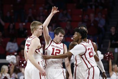 Kansas St Oklahoma Basketball, Austin Reaves