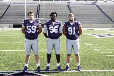 KSU Defensive Tackles, Media Day 2018