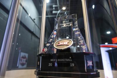 Big 12 Men's Basketball Tournament Trophy