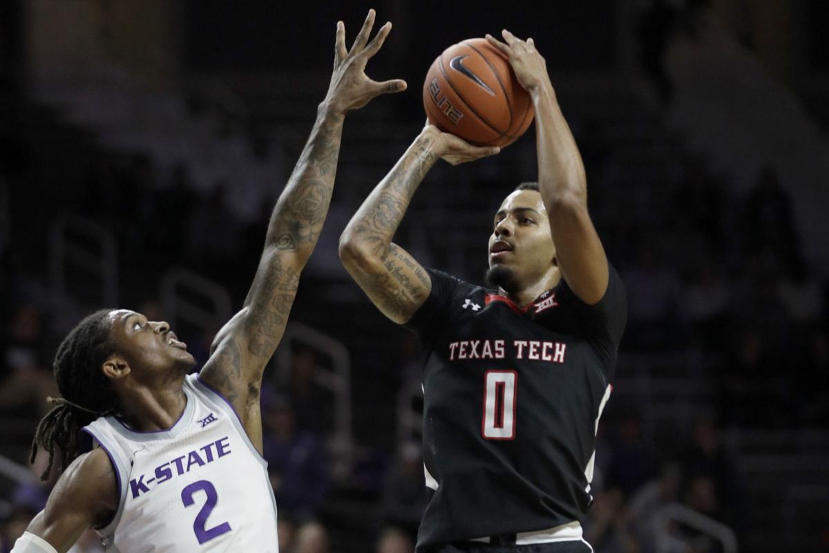 Texas Tech Kansas St Basketball, Kyler Edwards