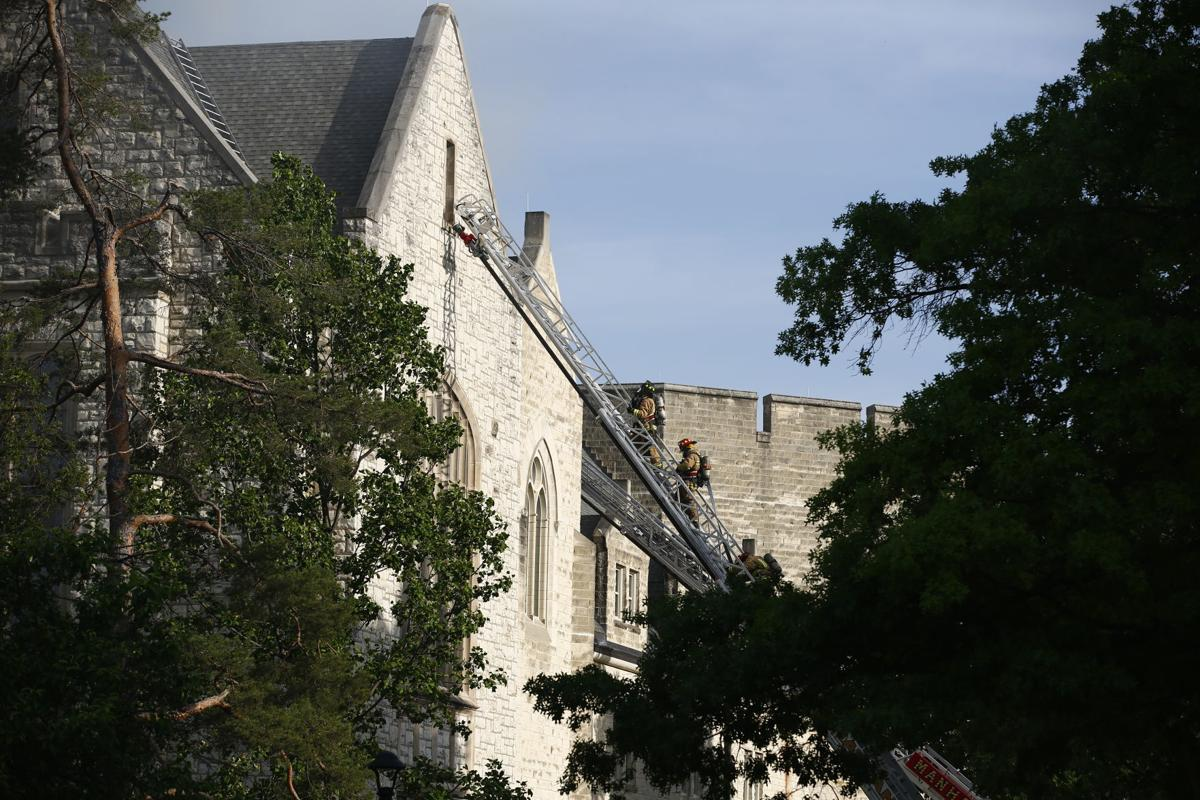 Hale Library Fire