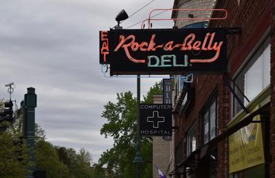 Rock-a-Belly sign