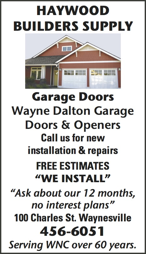 Haywood Builders Supply   Garage