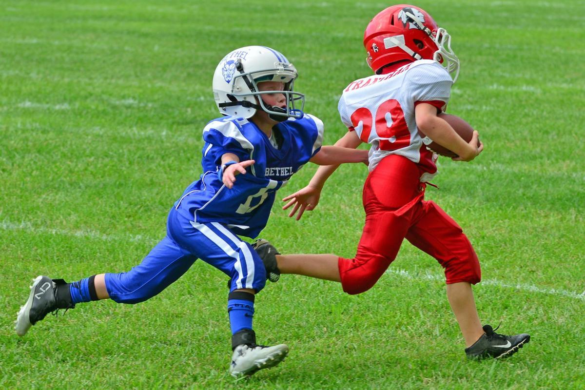 Local 'little guys' kickoff WNC Youth football season