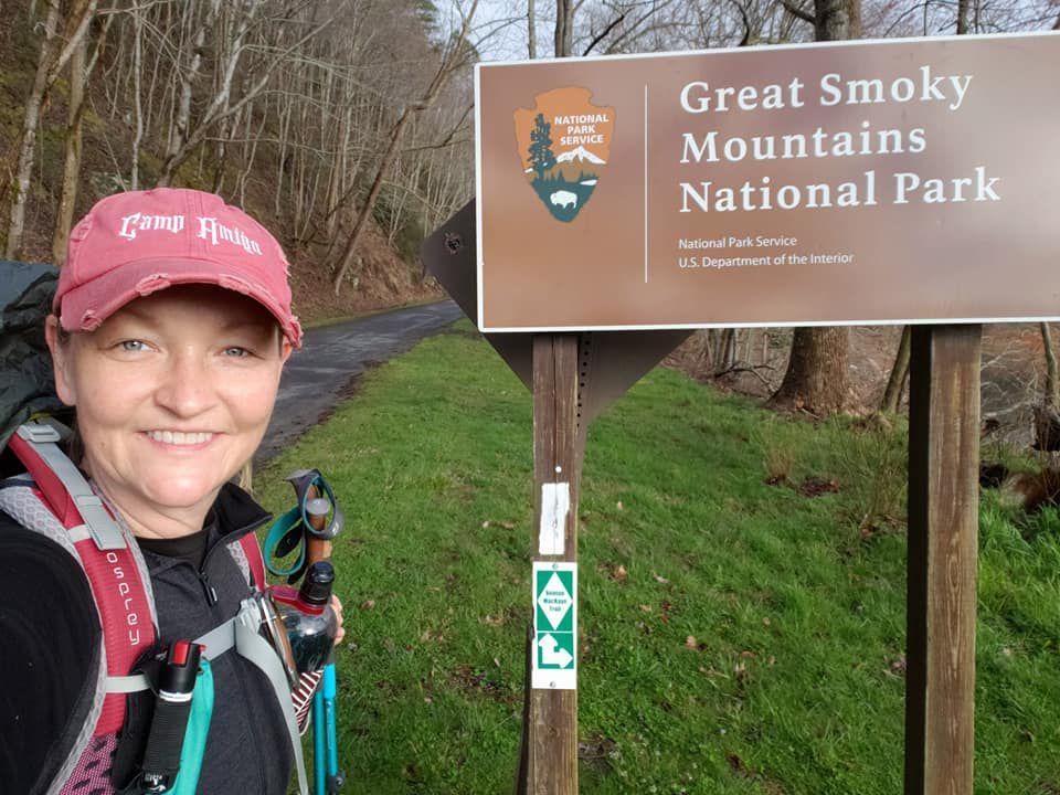 Sarah Jane at Great Smoky Mountains National Park