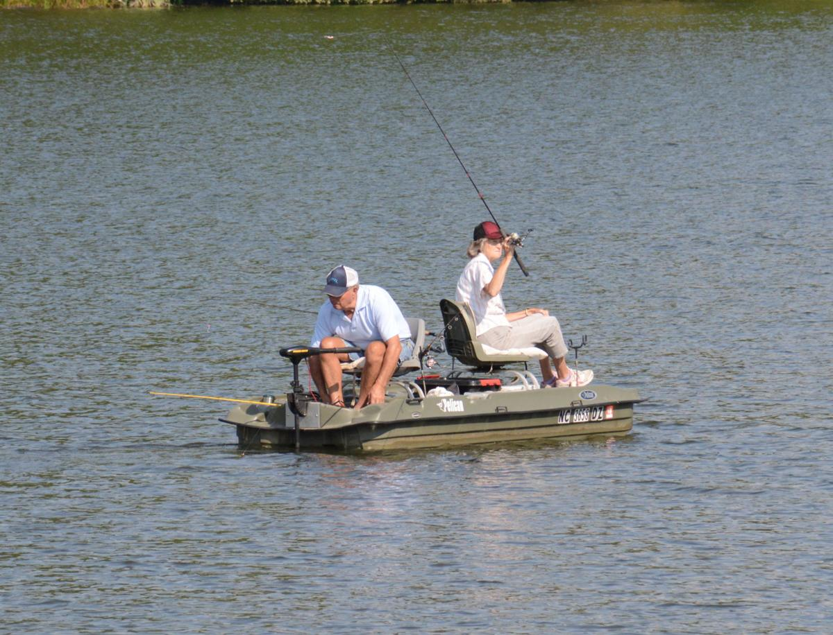 Lake junaluska expands no fishing boundaries to protect for Lake junaluska fishing