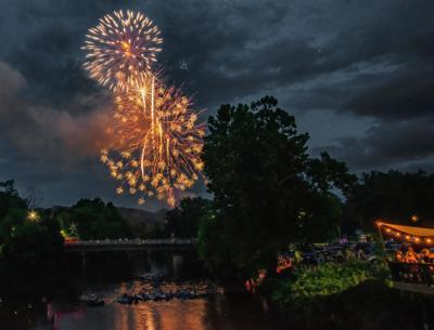 Canton fireworks