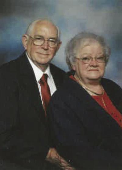 Ray and Bobbie McCall anniversary