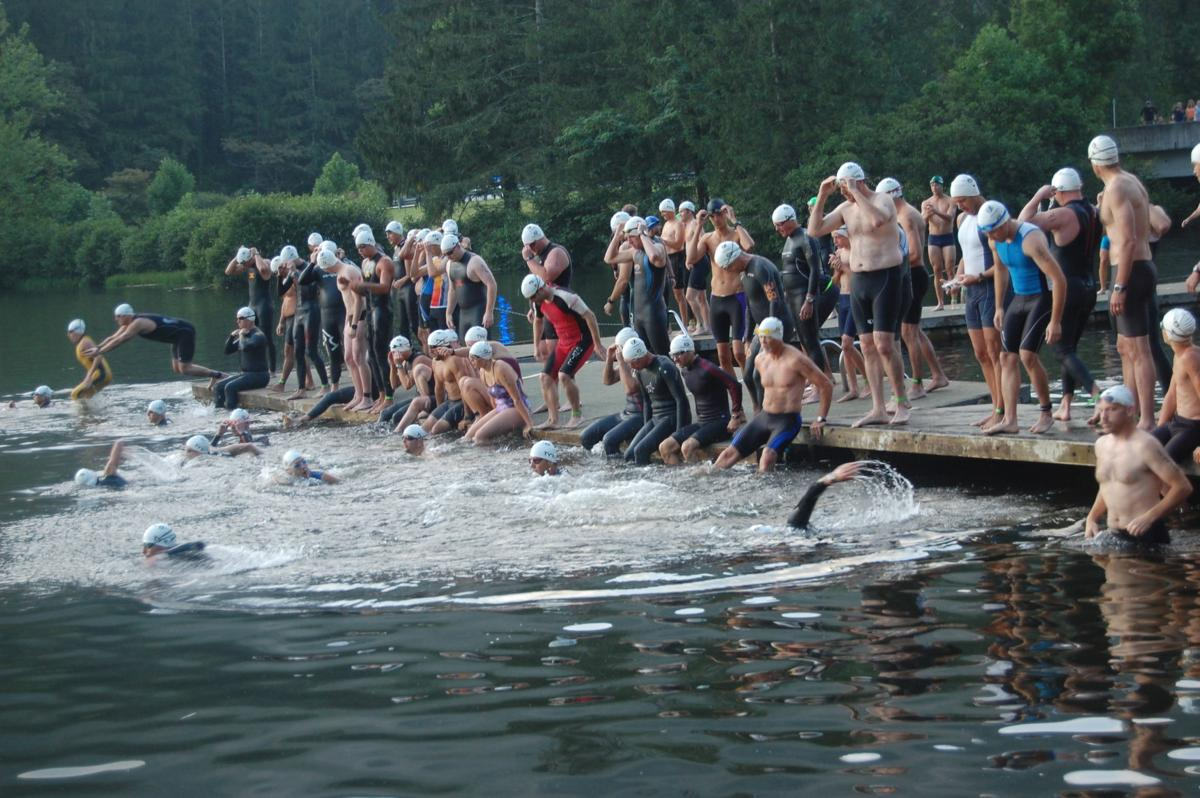 Lake Logan event attracts athletes from across the region