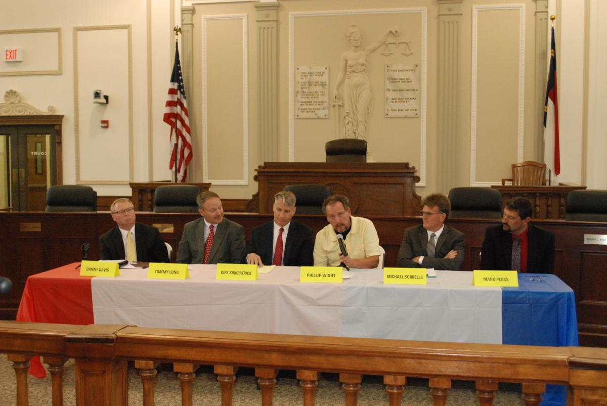 Candidate Forum Highlights Candidate Differences News