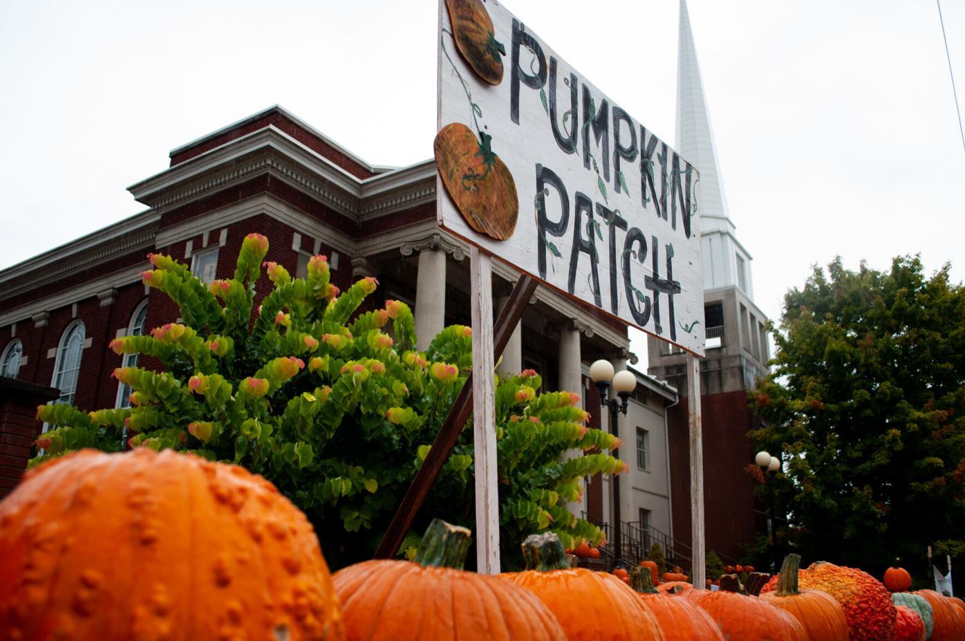 FUMC pumpkin patch sign