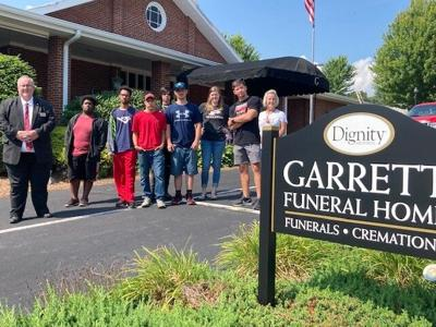 Garrett Funeral Home - PHS students - occupational courses