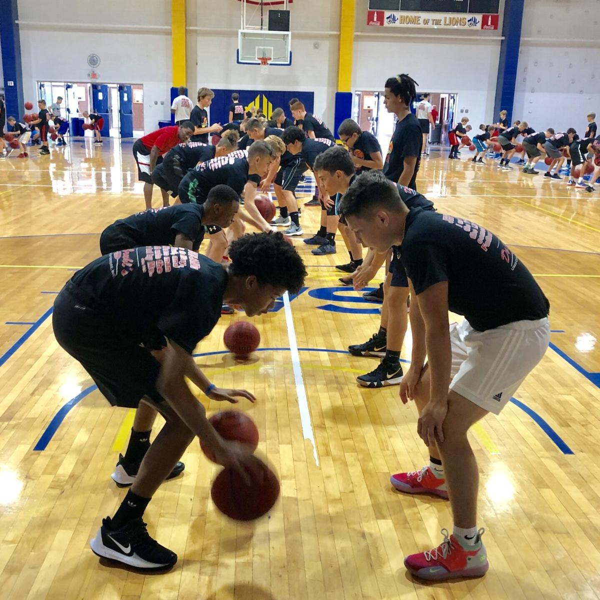 Crossfire Ministries basketball camp