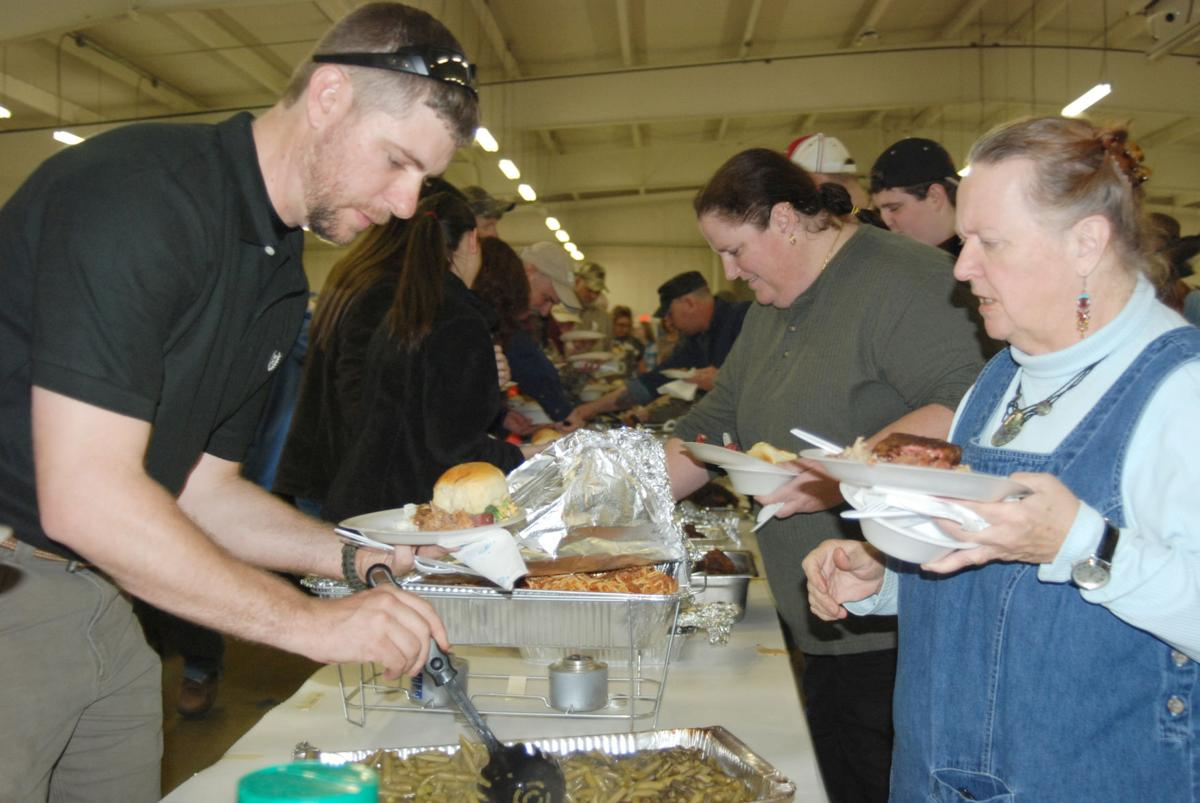 Wild Game Dinner draws hungry crowd of supporters
