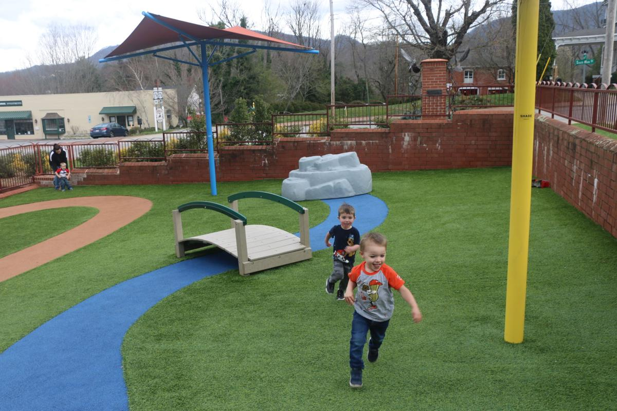 First Baptist Church-kids playing