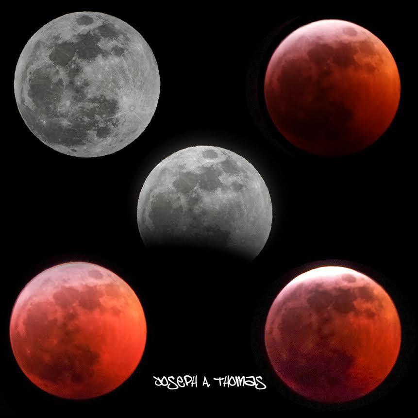 Lunar eclipse / Wolf Moon