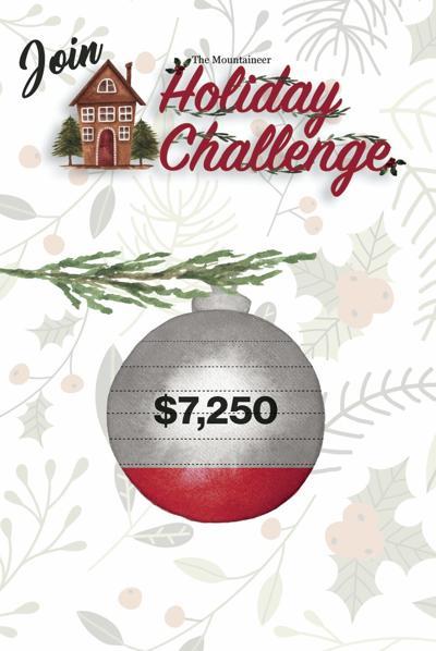 Holiday challenge graphic
