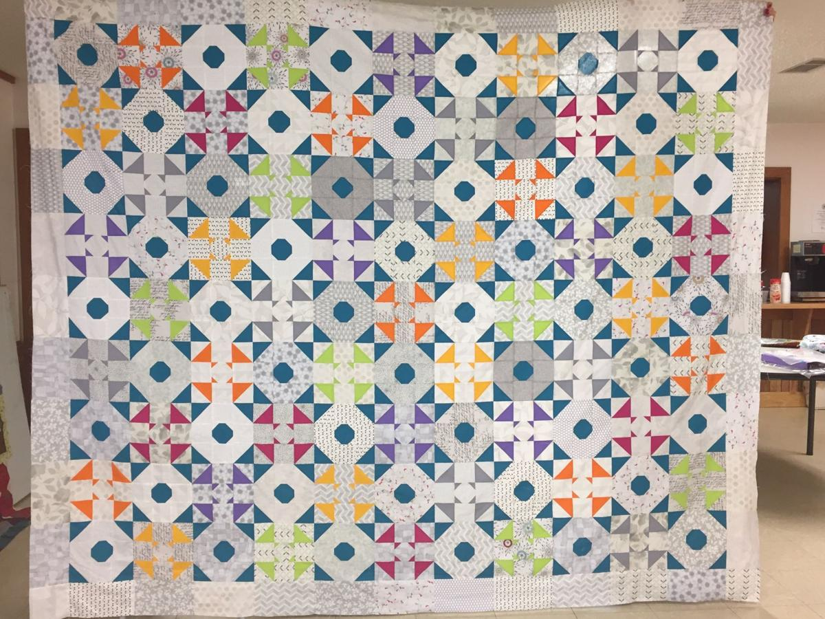 Haywoods Mandmade Angles Featured In 2017 Quilt Show The Guide