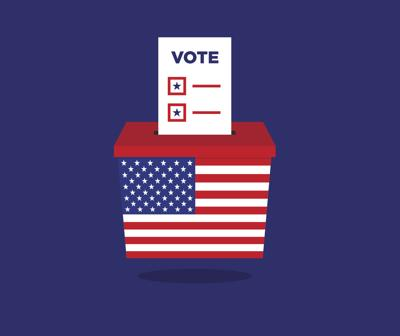 election voting ballot illustration