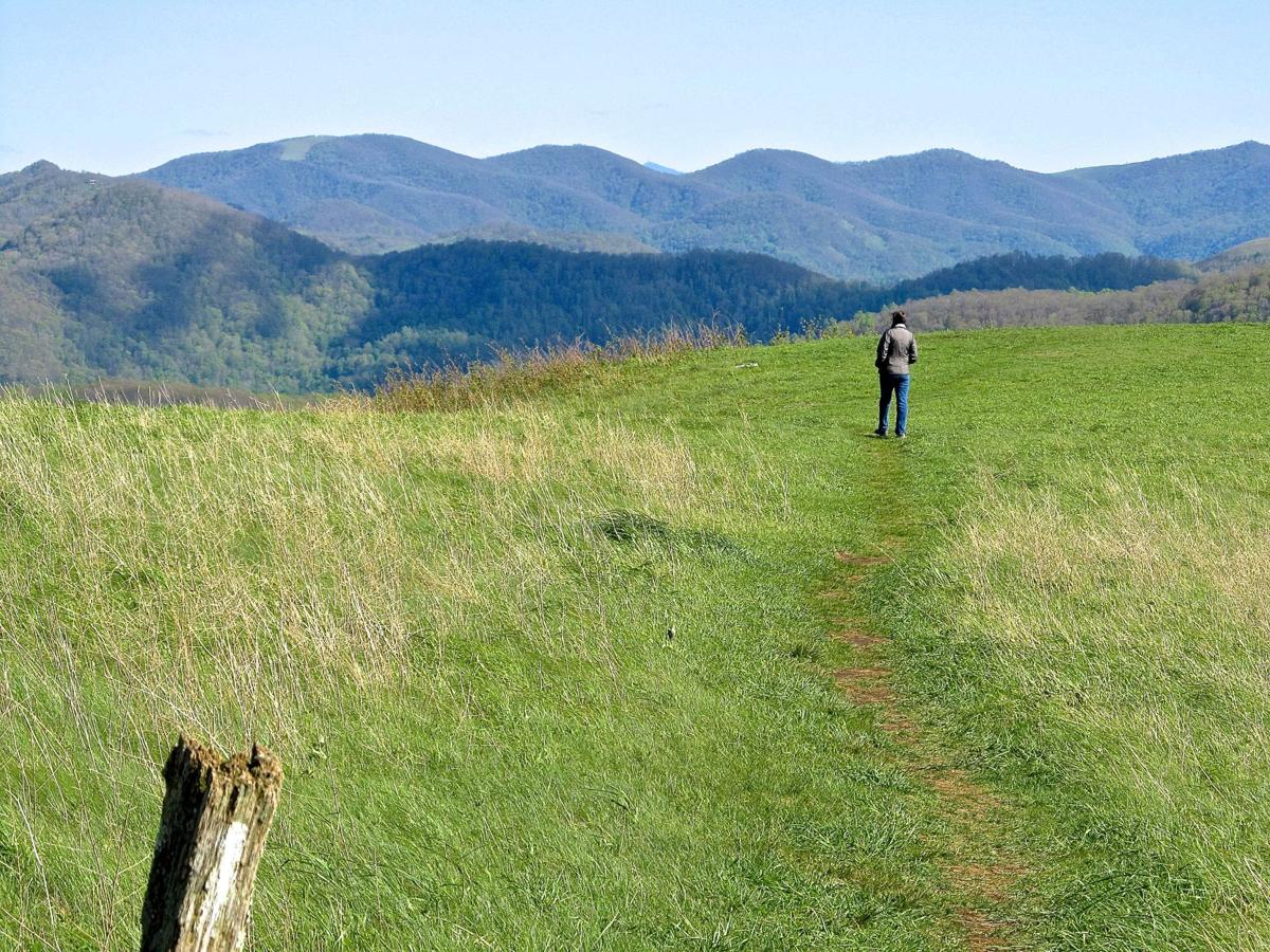 AT crosses Max Patch