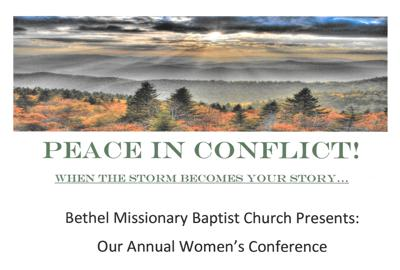 women's conf poster