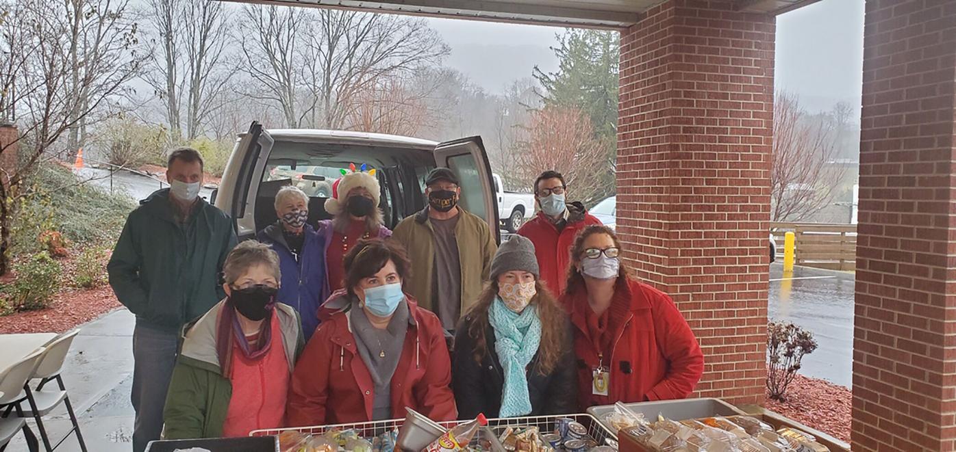Open Door volunteers