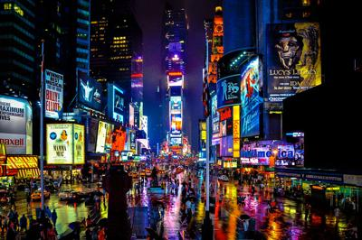 Broadway- Times Square NYC