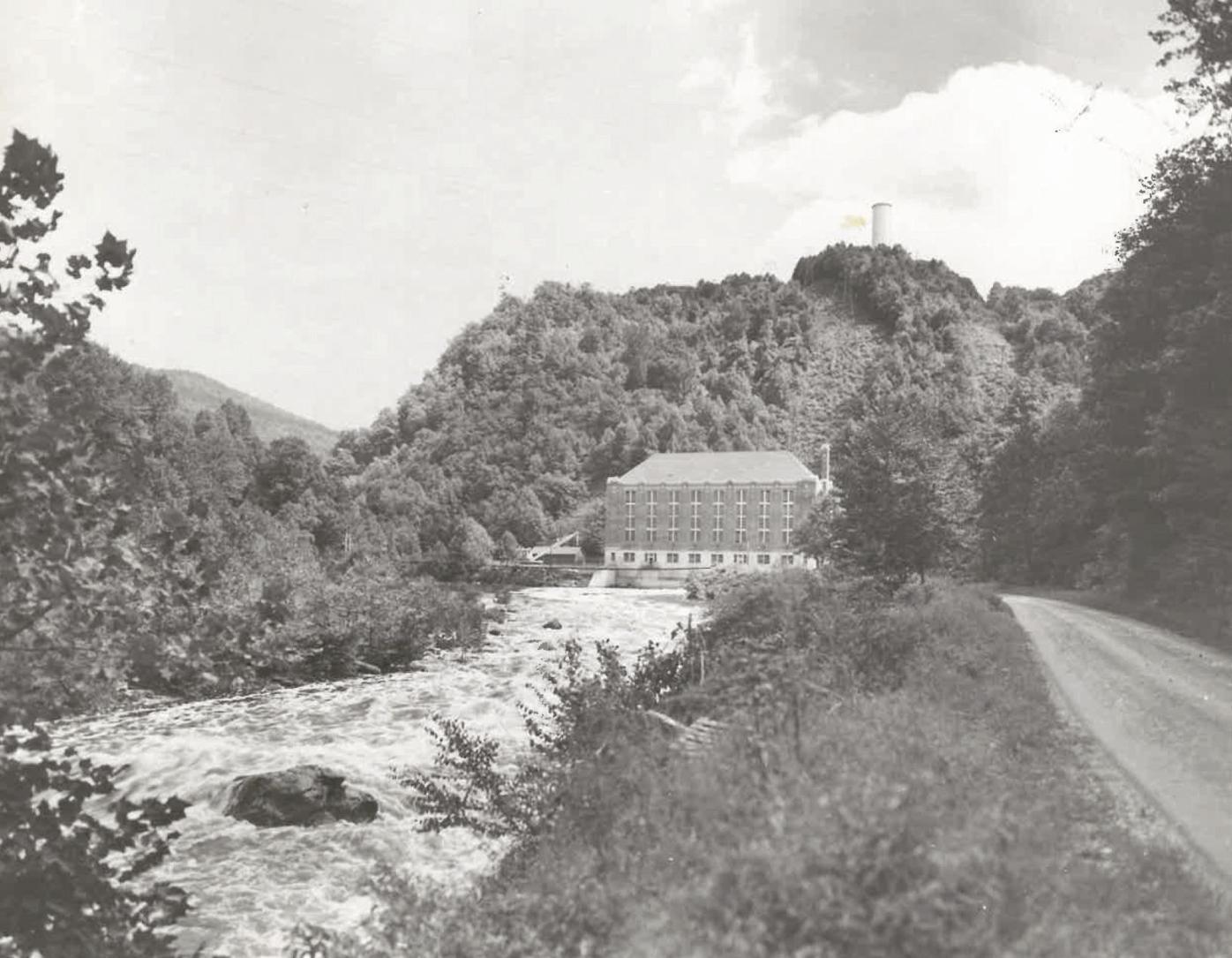 Walters Hydro plant