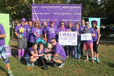 Asheville Walk to end Alzheimer's