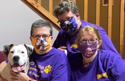 K-9 Curriculum winning mask photo