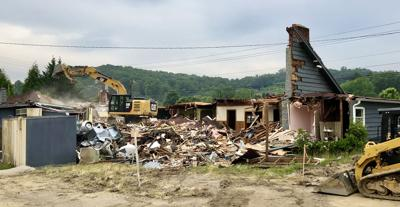 old granny's chicken palace torn down