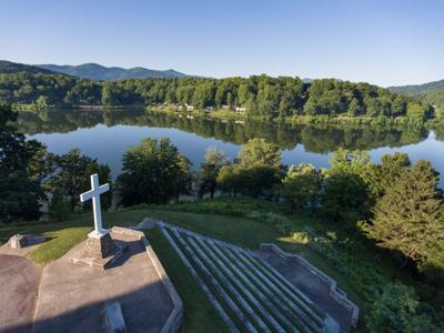 Lake Junaluska cross