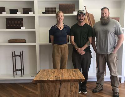 Trio Of Hcc Crafts Wood Students Open Canton Woodworking Shop And