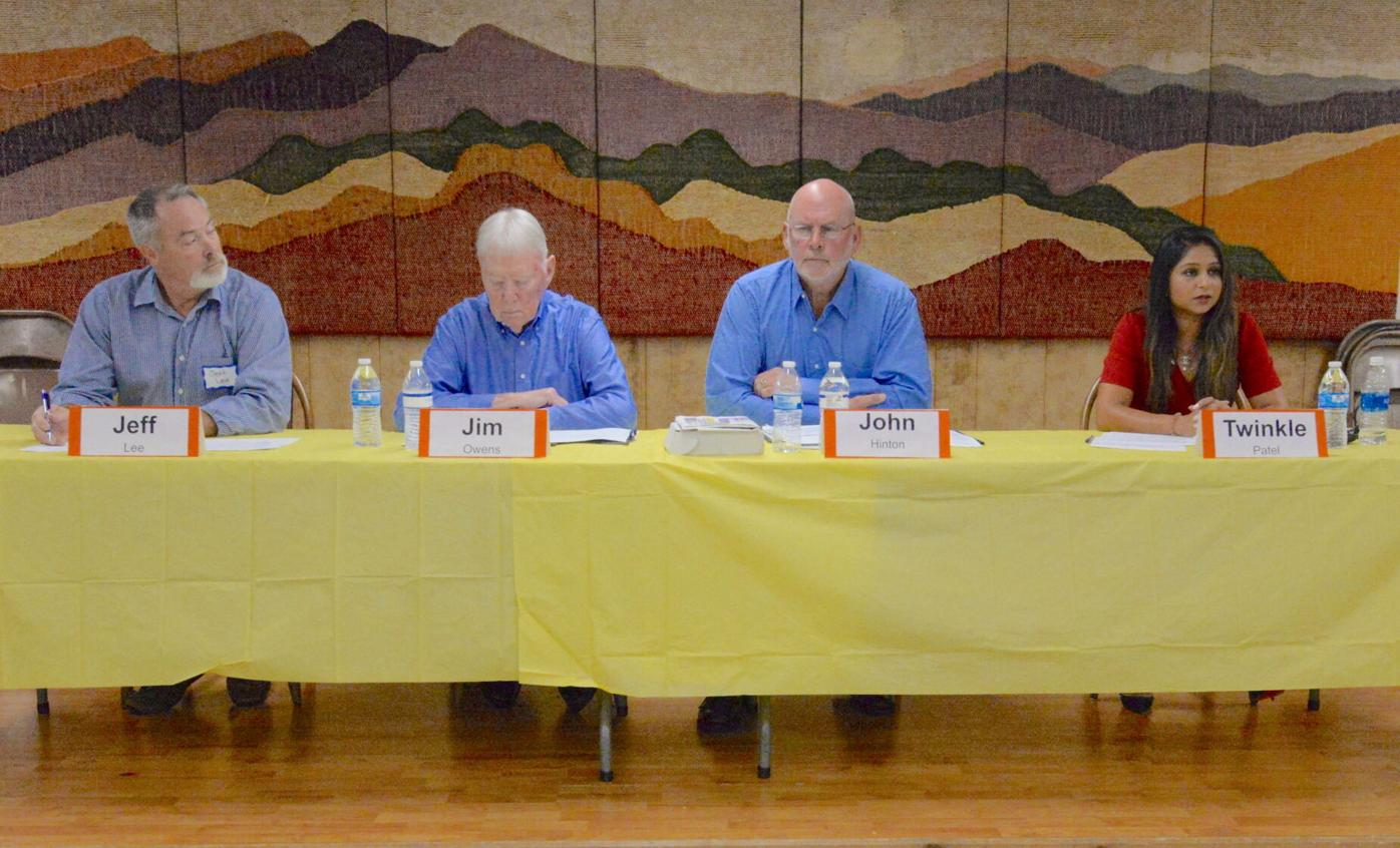 Maggie candidate forum overall 1.JPG