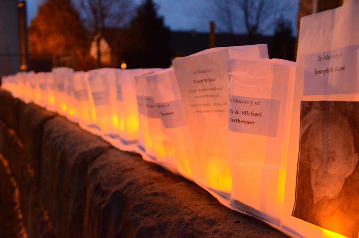 Four Seasons memorial lights